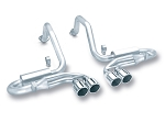 C5 Corvette BORLA Cat-Back™ Exhaust S-Type- QUAD TIPS