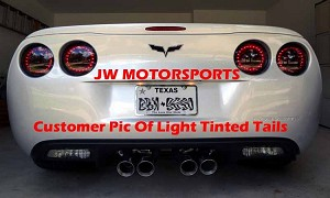 JWM Tinted C6 LED Tail Lights- Set of 4
